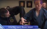 สถานีโทรทัศน์ NHK นำเสนอรายการพิเศษ Living Ninja Legend: Masaaki Hatsumi